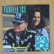 Discos de vinilo: VANILLA ICE - COOL AS ICE - SINGLE. Lote 203031050
