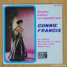 Disques de vinyle: CONNIE FRANCIS - LA PALOMA + 3 - EP. Lote 203031538