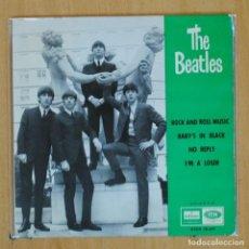 Disques de vinyle: THE BEATLES - ROCK ROLL MUSIC + 3 - EP. Lote 203032038