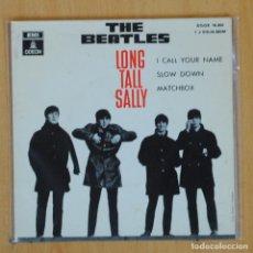 Disques de vinyle: THE BEATLES - LONG TALL SALLY + 3 - EP. Lote 203032043