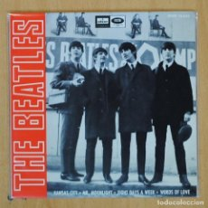 Disques de vinyle: THE BEATLES - KANSAS CITY + 3 - EP. Lote 203032053