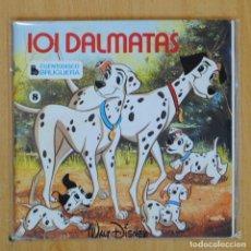Discos de vinilo: 101 DALMATAS - CUENTO - EP. Lote 203032440