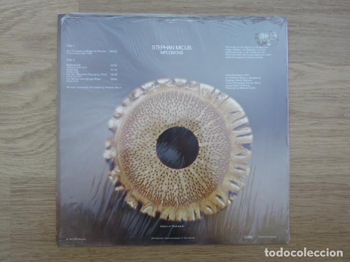 Discos de vinilo: LP STEPHAN MICUS IMPLOSIONS JAN GARBAREK NANA VASCONCELOS JAZZ STEPHANE GRAPPELLI MUSICA ETNICA - Foto 2 - 203032905