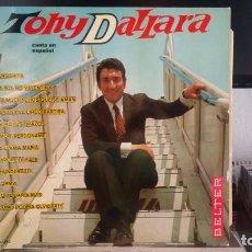 Discos de vinilo: *** TONY DALLARA - CANTA EN ESPAÑOL - LP AÑO 1967 - LEER DESCRIPCIÓN. Lote 203038435
