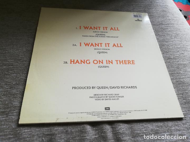 Discos de vinilo: Queen-i want it all. máxi españa - Foto 2 - 203040465