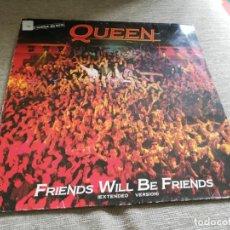Discos de vinilo: QUEEN-FRIENDS WILL BE FRIENDS. MÁXI ESPAÑA. Lote 203040613