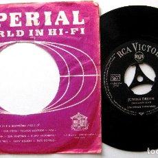 Discos de vinilo: LOS INDIOS TABAJARAS - MARIA ELENA / JUNGLE DREAM - SINGLE RCA VICTOR 1963 ALEMANIA BPY. Lote 203055690