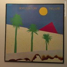 Discos de vinilo: THE CURE ?– BOYS DON'T CRY UK 1983 FICTION RECORDS. Lote 203058145