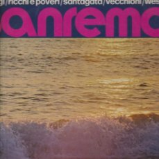 Discos de vinilo: LP SANREMO 73 COMPILAZIONE ITALIANA CETRA JET RICCHI & POVERI ROSA BALISTRERI TONY SANTAGATA LP ITAL. Lote 203059266