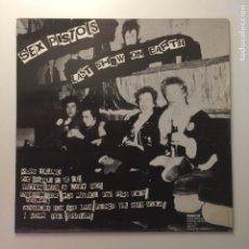 Discos de vinilo: SEX PISTOLS / SID VICIOUS ?– LAST SHOW ON EARTH & DRUGS KILL FRANCIA 1986 MBC RECORDS. Lote 203059422