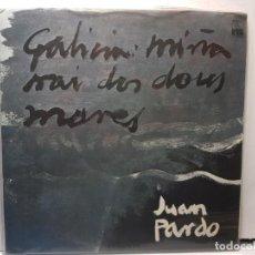Discos de vinilo: LP-JUAN PARDO-GALICIA MIÑA NAI DOS DOUS MARES EN BLISTER ORIGINAL 1976. Lote 203060413