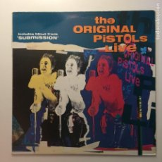 Discos de vinilo: THE ORIGINAL PISTOLS ?– THE ORIGINAL PISTOLS LIVE UK 1989 DOJO. Lote 203062668