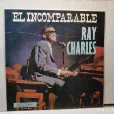 Discos de vinilo: LP-RAY CHARLES-EL INCOMPARABLE EN BLISTER ORIGINAL 1966. Lote 203071495