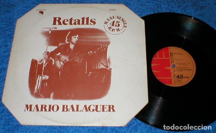 MARIO BALAGUER SPAIN 12 MAXI 45 RPM RETALLS + ROCK CON ROLL EMI EX SANTABARBARA BUEN ESTADO !! (Música - Discos de Vinilo - Maxi Singles - Solistas Españoles de los 70 a la actualidad)