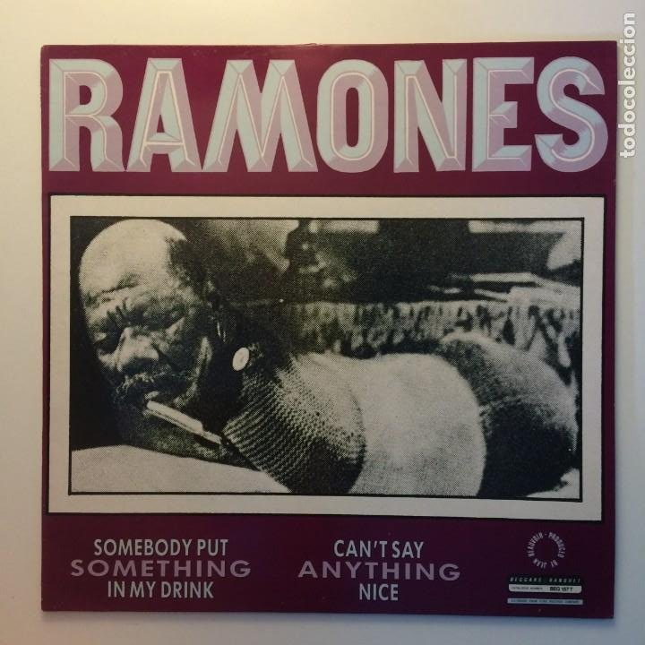 Discos de vinilo: Ramones – Something To Believe In UK 1986 BEGGARS BANQUET - Foto 2 - 203078542