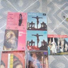 Discos de vinil: LOTE DE 2 EPS DE MUSICA DE SEMANA SANTA. Lote 181914756