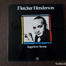 Discos de vinilo: DISCO VINILO LP, MAESTROS DEL JAZZ, FLETCHER HENDERSON, SUGARFOOT STOMP. CBS LSP 982326-1, 1989. Lote 203089060