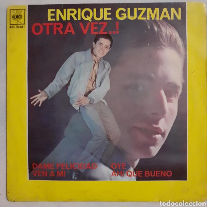 ENRIQUE GUZMAN. DAME FELICIDAD... CBS AGS 20.011. 1962 ESPAÑA. FUNDA VG+. DISCO VG+. (Música - Discos de Vinilo - EPs - Grupos y Solistas de latinoamérica)