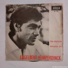 Discos de vinilo: ENGELBERT HUMPERDINCK. RELEASE... DECCA ME 301. ESPAÑA 1966. FUNDA VG. DISCO VG+.. Lote 203098457