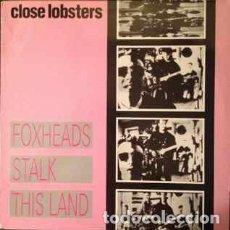Discos de vinilo: CLOSE LOBSTERS _– FOXHEADS STALK THIS LAND. Lote 203098605
