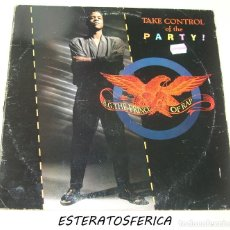 Discos de vinilo: B.G. THE PRINCE OF RAP - TAKE CONTROL OF THE PARTY (REMIXES) - 1991. Lote 203099586