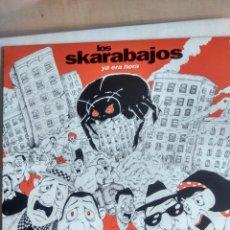 Discos de vinilo: SKARABAJOS -YA ERA HORA-LP-RARISIMO DE ENCOTRAR. Lote 47627623