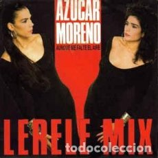 Discos de vinilo: AZUCAR MORENO - AUNQUE ME FALTE EL AIRE (LERELE MIX) - MAXI-SINGLE PROMO SPAIN. Lote 203114983