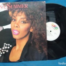 Discos de vinilo: DONNA SUMMER - THIS TIME I KNNOW IP´S FOR REAL - MAXI45RPM - WEA RECORDS 1989. Lote 203135681