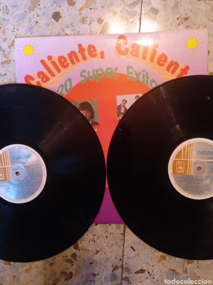 Discos de vinilo: CALIENTE CALIENTE 20 SUPER EXITOS - Foto 2 - 203140478