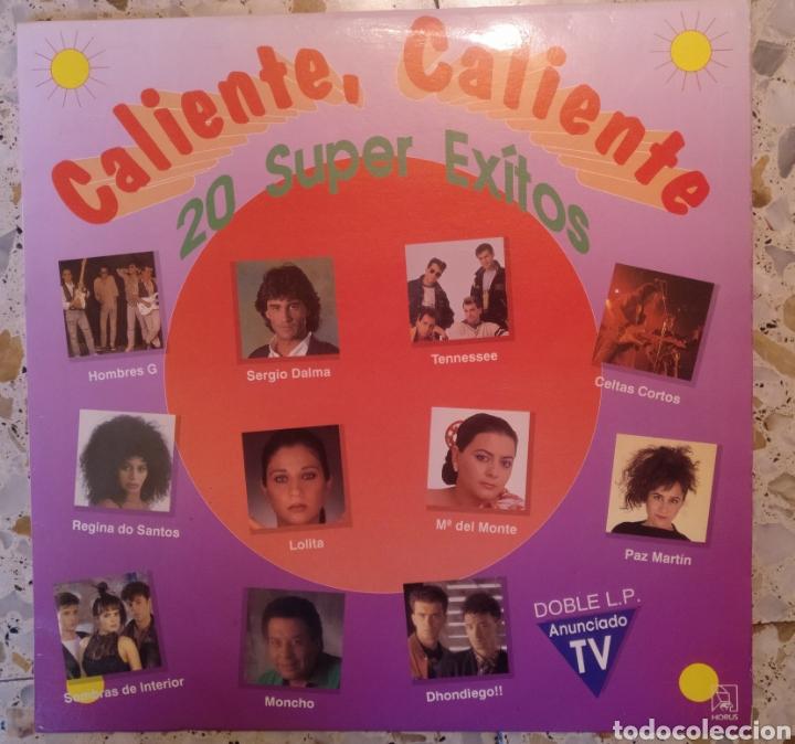 CALIENTE CALIENTE 20 SUPER EXITOS (Música - Discos - LP Vinilo - Grupos Españoles de los 90 a la actualidad)