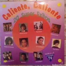 Discos de vinilo: CALIENTE CALIENTE 20 SUPER EXITOS. Lote 203140478