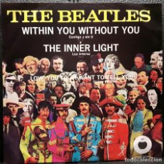 Disques de vinyle: BEATLES - WITHIN YOU WITHOUT YOU - EP - MEXICO - APPLE - RARO - EXCELENTE - PAUL MCCARTNEY. Lote 203140615