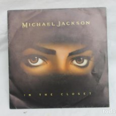 Discos de vinilo: MICHAEL JACKSON SINGLE, IN THE CLOSET, PROMOCIONAL, 1992, UN SOLO TEMA. Lote 203146452