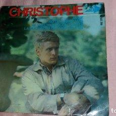 Discos de vinilo: CHRISTOPHE - EP SPAIN - VER FOTOS. Lote 203148920