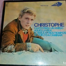 Discos de vinilo: CHRISTOPHE - EP SPAIN - VER FOTOS. Lote 203149032