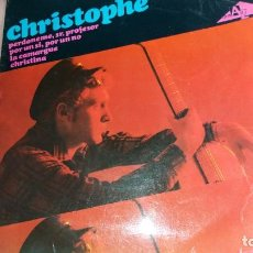 Discos de vinilo: CHRISTOPHE - EP SPAIN - VER FOTOS. Lote 203149057