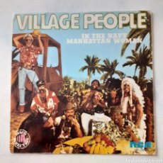 Discos de vinilo: VILLAGE PEOPLE. IN THE NAVY. RCA XB - 1084. 1979 ESPALA. FUNDA VG++. DISCO VG++. Lote 203154937