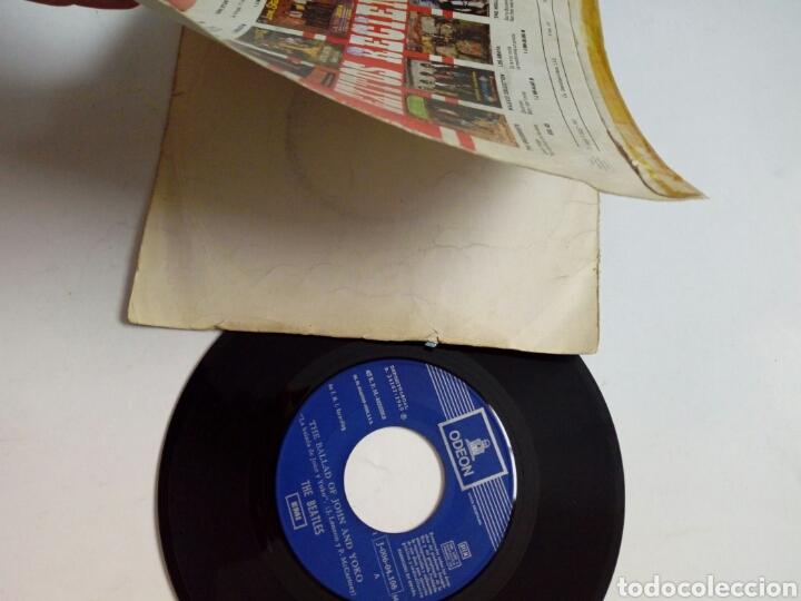 Discos de vinilo: (Leer Descripción) THE BEATLES - The ballad of John & Yoko + Old Brown Shoe (EMI ODEON) ed. española - Foto 4 - 203156193