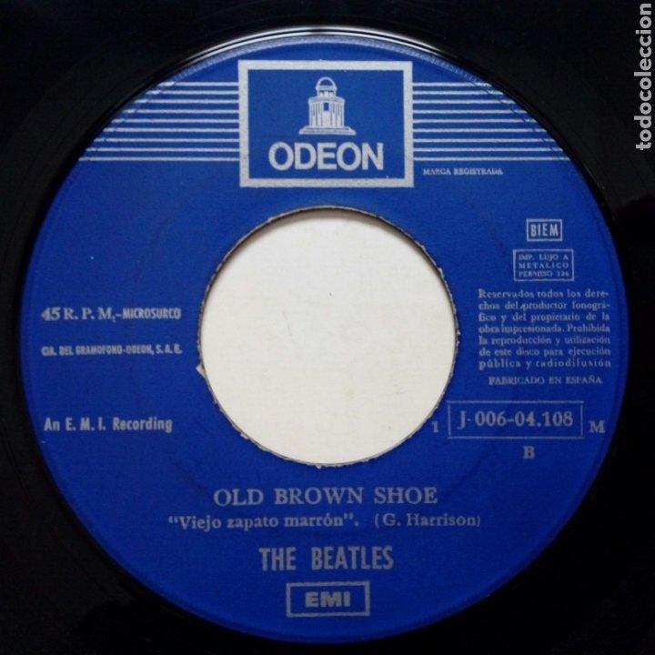 Discos de vinilo: (Leer Descripción) THE BEATLES - The ballad of John & Yoko + Old Brown Shoe (EMI ODEON) ed. española - Foto 6 - 203156193