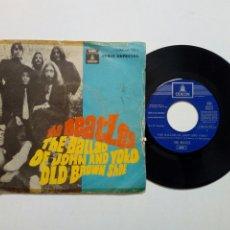 Discos de vinilo: (LEER DESCRIPCIÓN) THE BEATLES - THE BALLAD OF JOHN & YOKO + OLD BROWN SHOE (EMI ODEON) ED. ESPAÑOLA. Lote 203156193