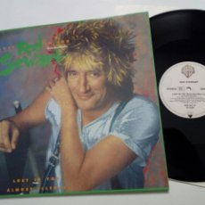 Discos de vinilo: MAXISINGLE: ROD STEWART - LOST IN YOU (EXTENDED MIX + FADE) + ALMOST ILLEGAL (WB, 1988). Lote 203158400
