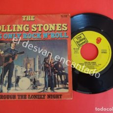 Discos de vinilo: THE ROLLING STONES. SINGLE 45 R.P.M. IT´S ONLY ROCK N´ROLL. EDICION ESPAÑOLA HISPAVOX. Lote 203165655