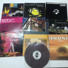 Disques de vinyle: LOTE DE 10 VINILOS ELECTRO. Lote 203170376