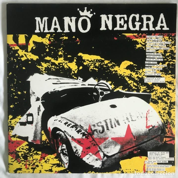 MANO NEGRA ?– KING OF BONGO GAT 1991 COMO NUEVO (Música - Discos - LP Vinilo - Pop - Rock Extranjero de los 90 a la actualidad)