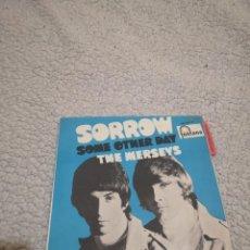 Discos de vinilo: DISCO VINILO SINGLE THE MERSEYS SORROW. Lote 203172902