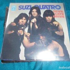 Dischi in vinile: SUZI QUATRO. DEVIL GATE DRIVE / IN THE MORNING. EMI, 1974. EDC. ITALY. Lote 203175247