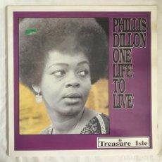 Discos de vinilo: PHILLIS DILLON ONE LIFE TO LIVE 1991 FRANCES. Lote 203176438