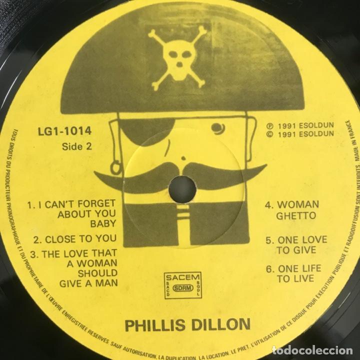 Discos de vinilo: Phillis Dillon One Life To Live 1991 FRANCES - Foto 3 - 203176438