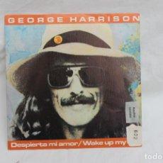 Discos de vinilo: GEORGE HARRISON, SINGLE, DESPIERTA MI AMOR, 1982 PROMO. Lote 203178868