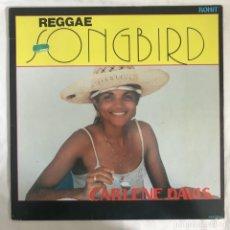Discos de vinilo: CARLENE DAVIS – REGGAE SONGBIRD US 1988. Lote 203180767